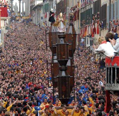 A Gubbio una delle feste più antiche del folklore italiano