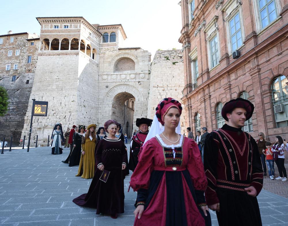Perugia 1416: un tuffo nella storia della città